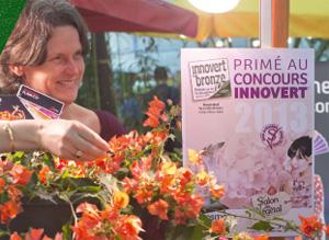 Cannebeth Salon du Végétal 2013 - concours innovert